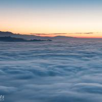 Der Berner Hausberg im Nebelmeer
